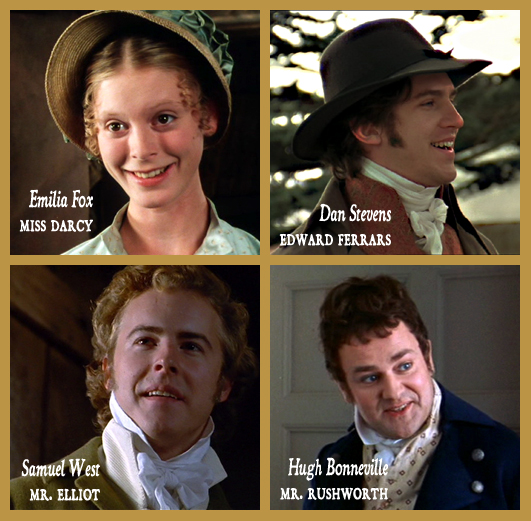 Eternos personagens de jane austen