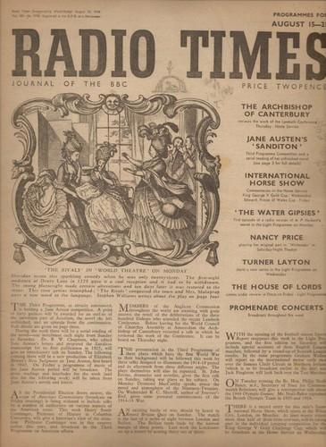 Sanditon, Radio Times, 1948