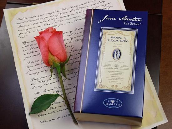 Bicentenário de Orgulho e preconceito no Bingley's Tea
