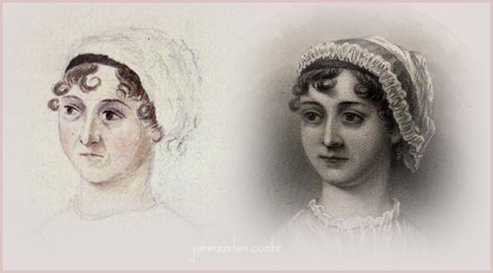 Jane Austen, retrato e ilustração